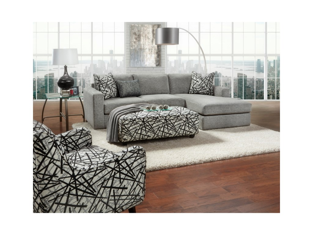 FN 2051Stationary Living Room Group
