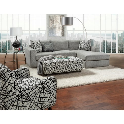 Fusion Furniture 2051 Stationary Living Room Group