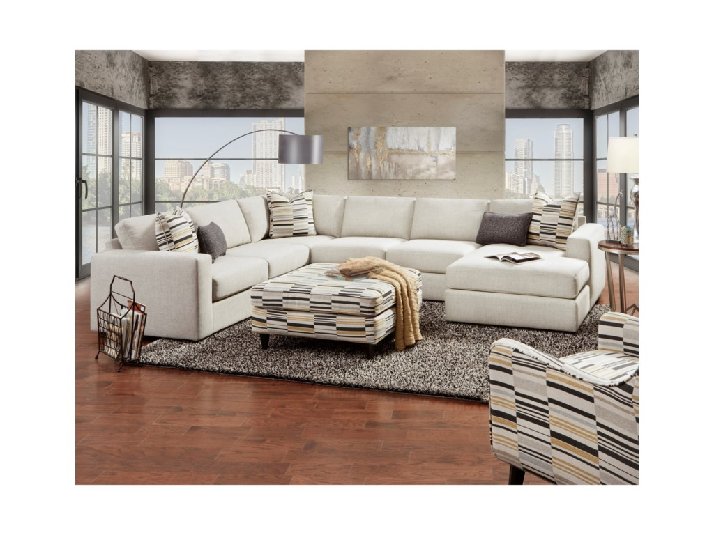 Fusion Furniture 2051Stationary Living Room Group