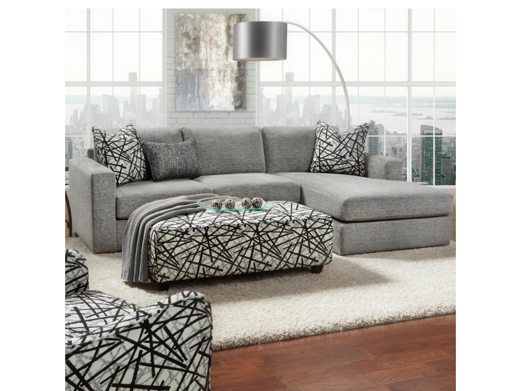 Fusion Furniture 20512 Piece Sectional