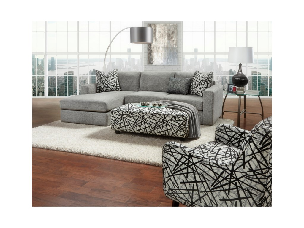 Fusion Furniture 20512-Piece Sectional