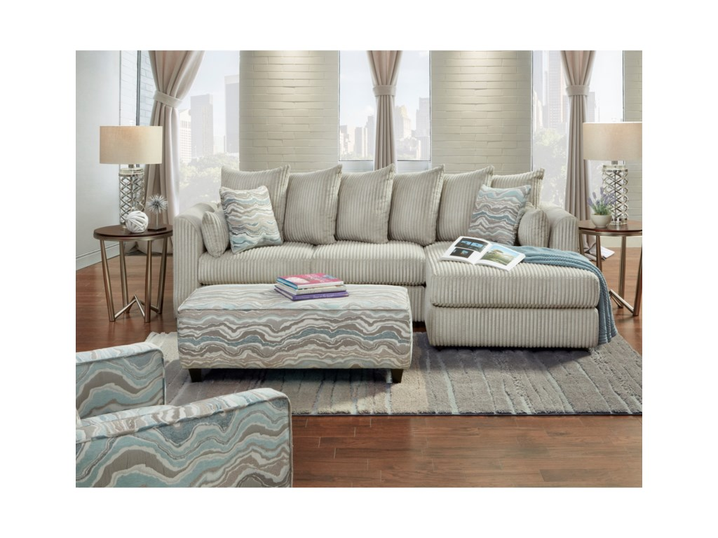 Haley Jordan 2053Stationary Living Room Group