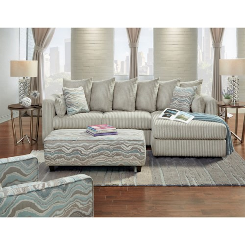Fusion Furniture 2053 Stationary Living Room Group