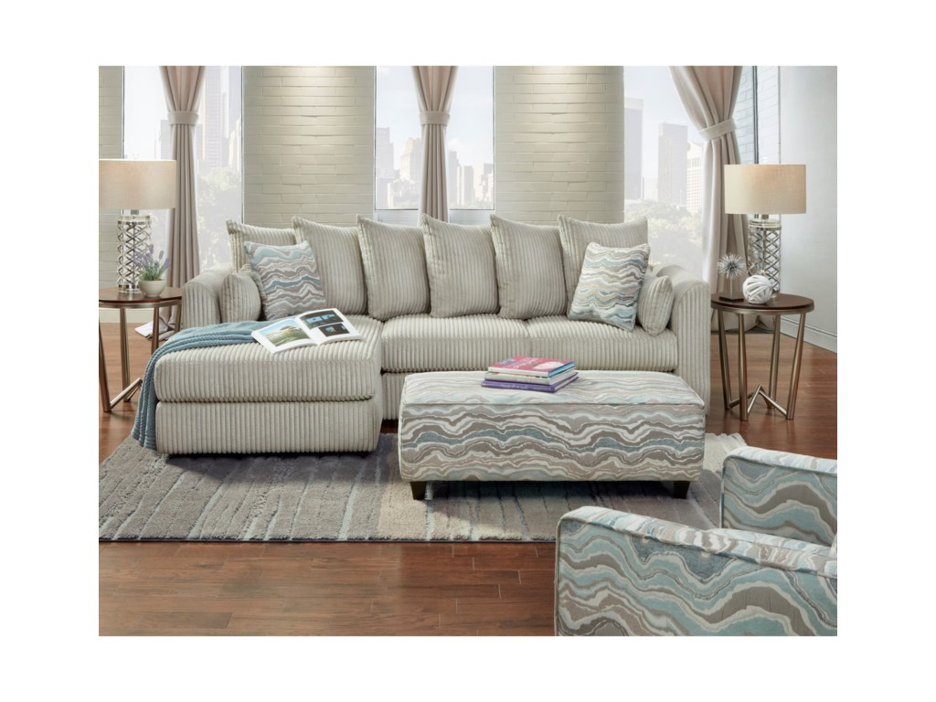 Fusion Furniture 2053Stationary Living Room Group