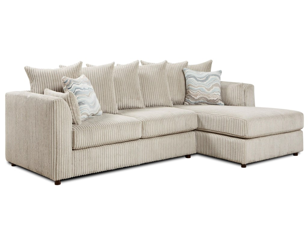Fusion Furniture 20532 Piece Sectional