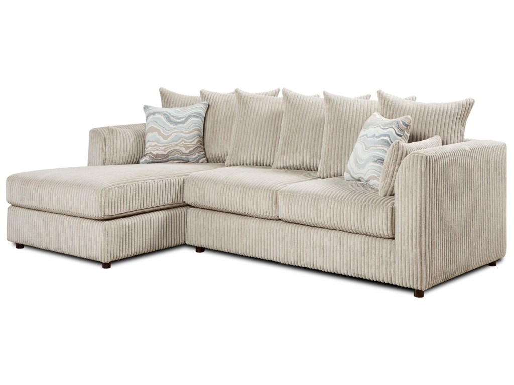 Fusion Furniture 20532-Piece Sectional
