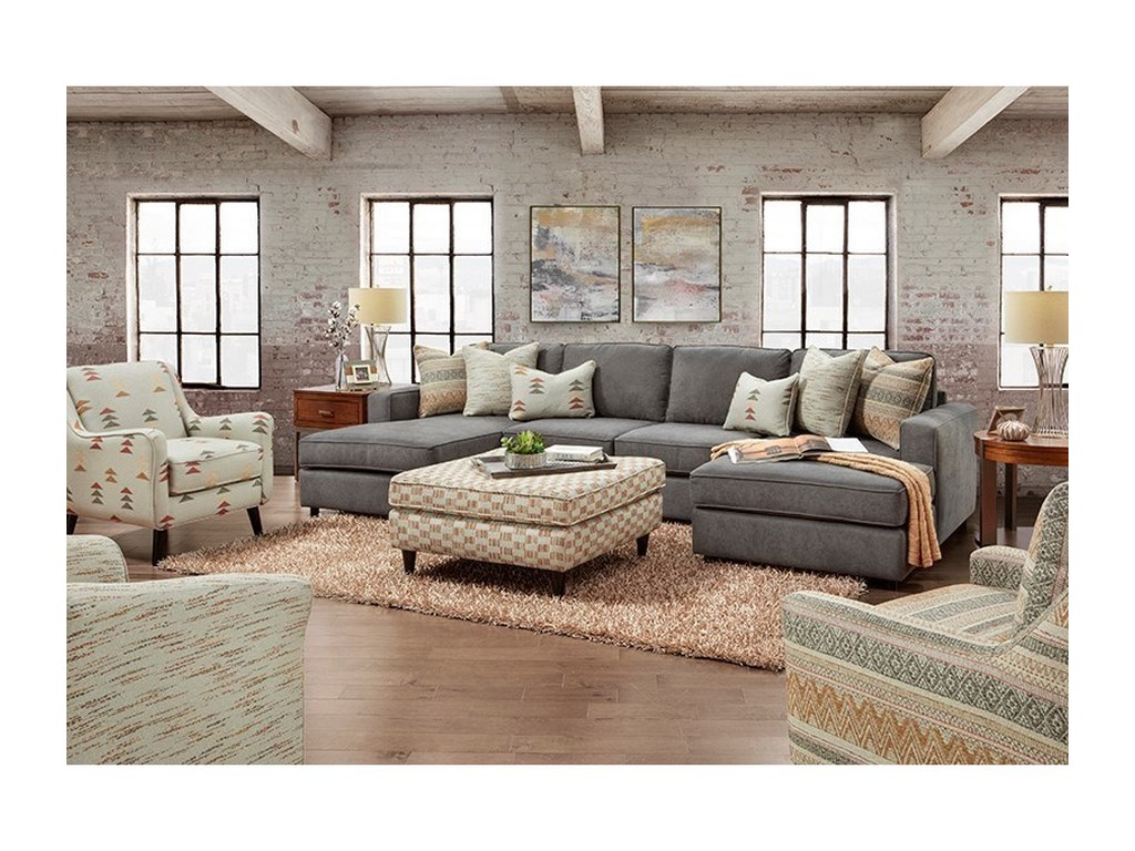 Fusion Furniture 2061Living Room Group