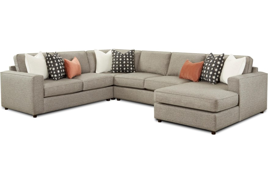 2061 4 piece sectional with chaise