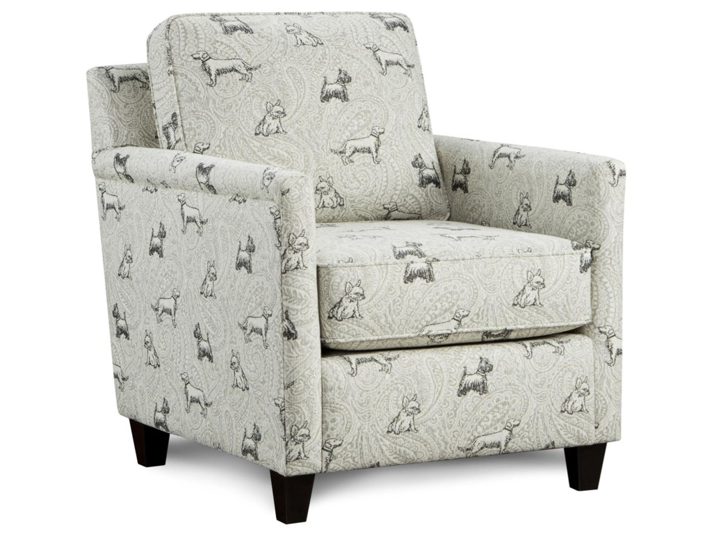 Fusion Furniture 21-02Accent Chair