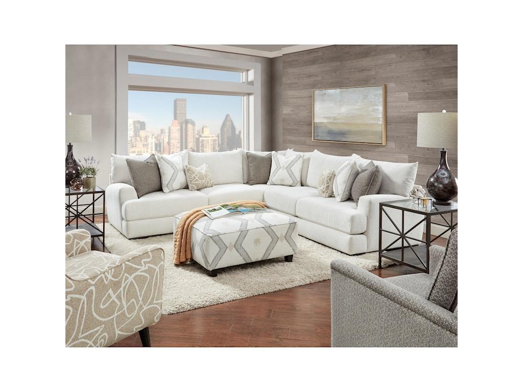Fusion Furniture 21-02Swivel Glider Chair