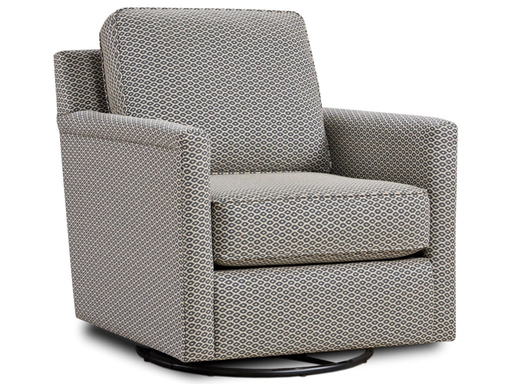 Powell's V.I.P. 21-02Swivel Glider Chair