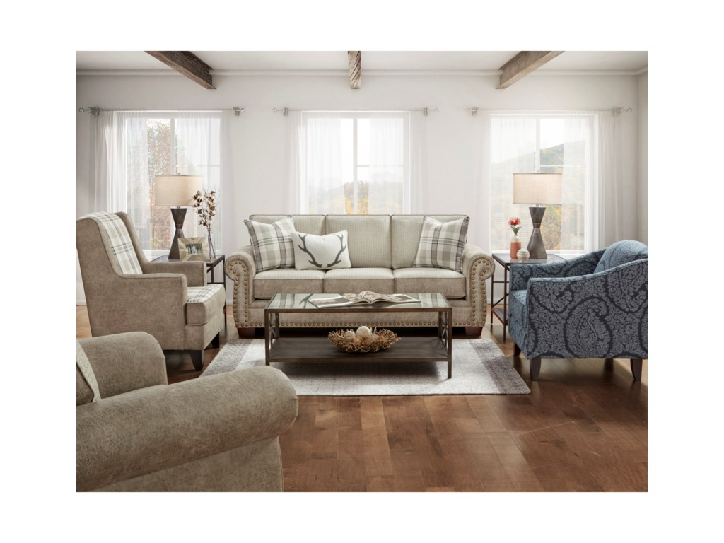 Fusion Furniture 22-00Living Room Group