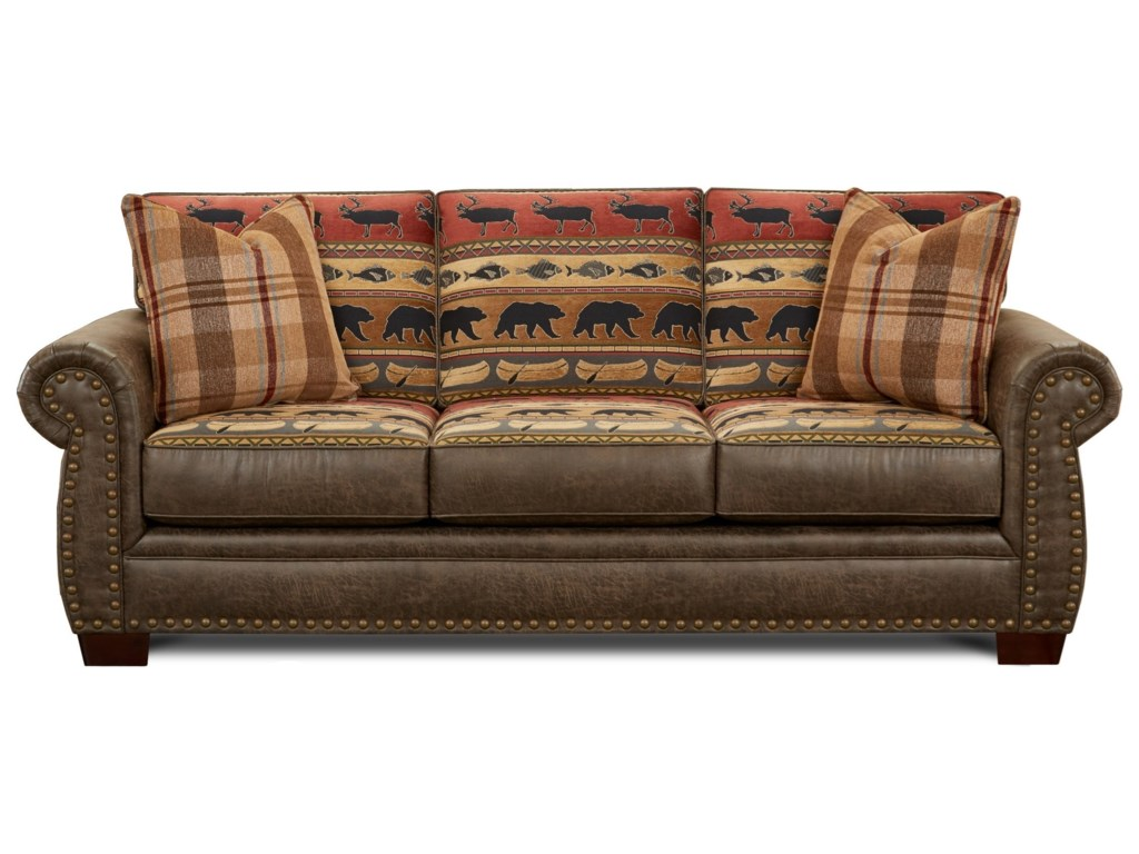 Fusion Furniture 22-00Sofa