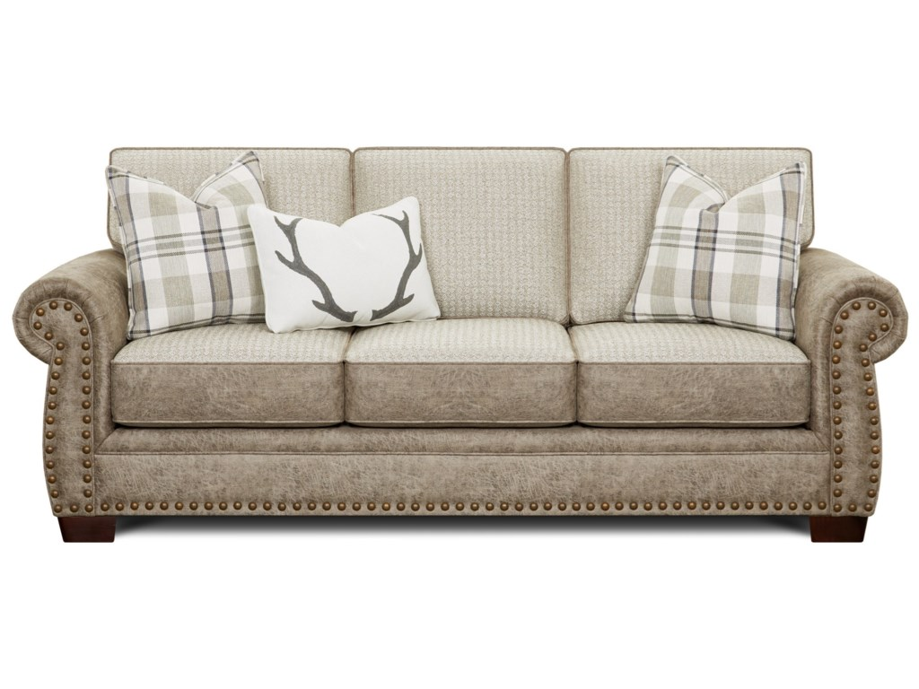 Fusion Furniture 22-00Sleeper Sofa