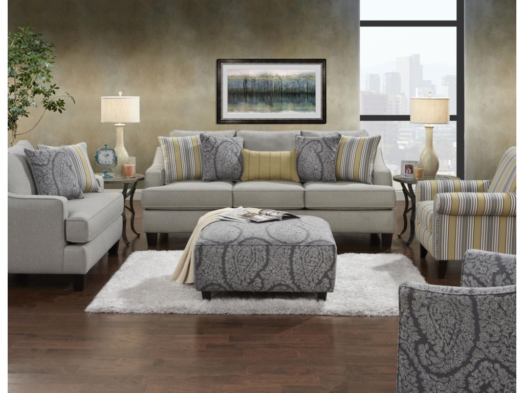Fusion Furniture 2310Stationary Living Room Group