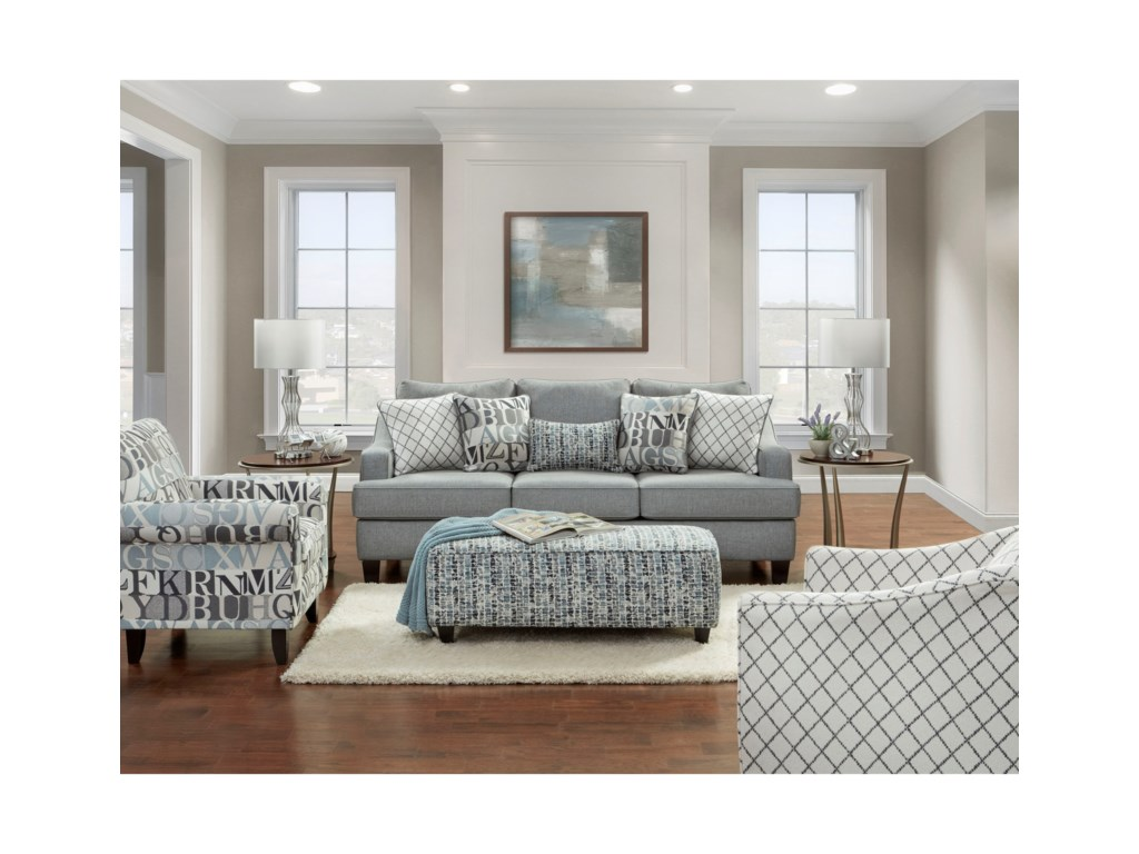 Haley Jordan 2330Stationary Living Room Group