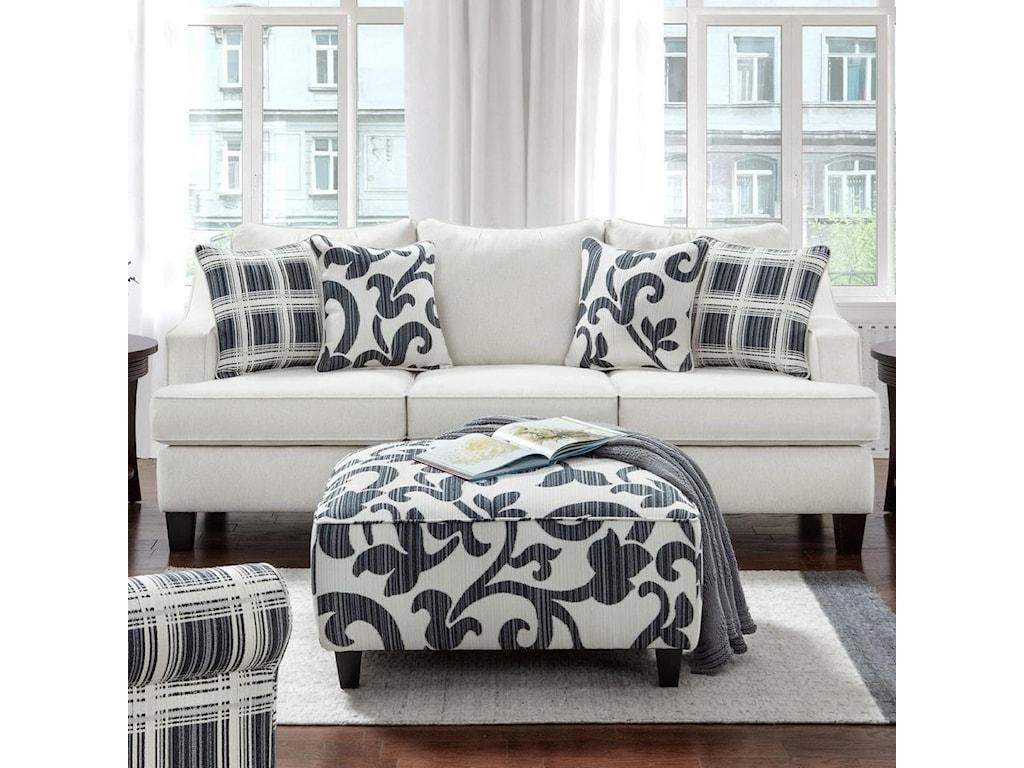 Fusion Furniture 2330Sleeper Sofa