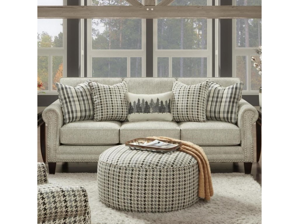 Fusion Furniture 2530Sofa