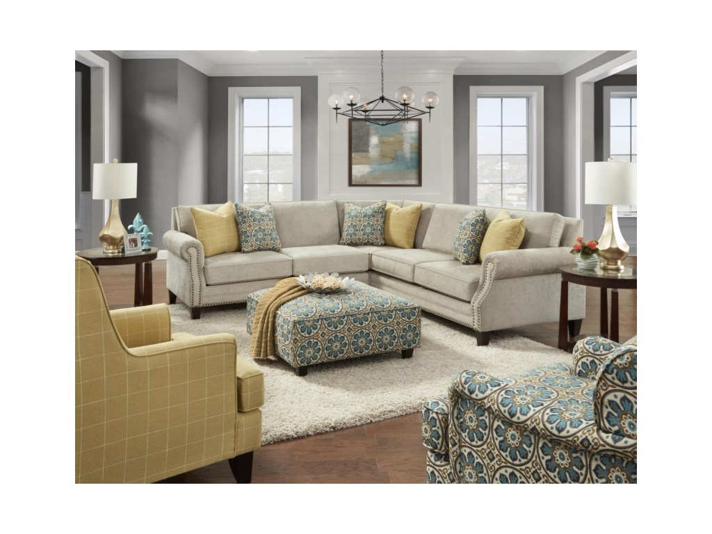 FN 25304-Seat Sectional Sofa