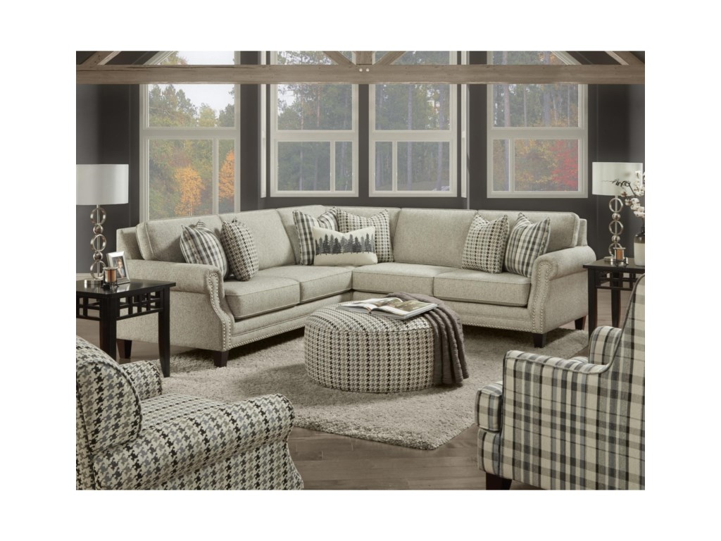 VFM Signature 25304-Seat Sectional Sofa