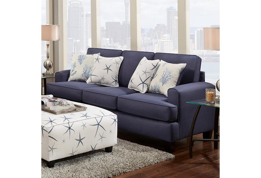 Fusion Furniture 2600 Contemporary Sofa