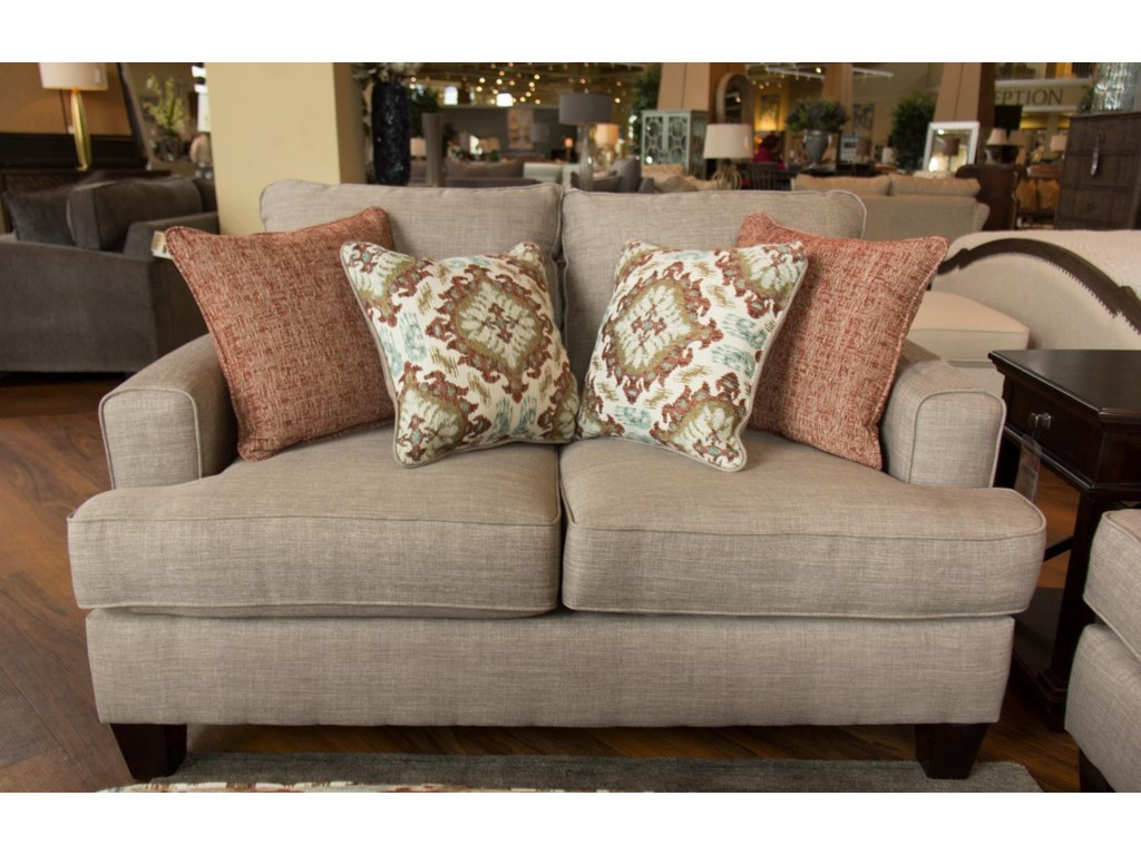 Fusion Furniture Quinn TwilightLoveseat