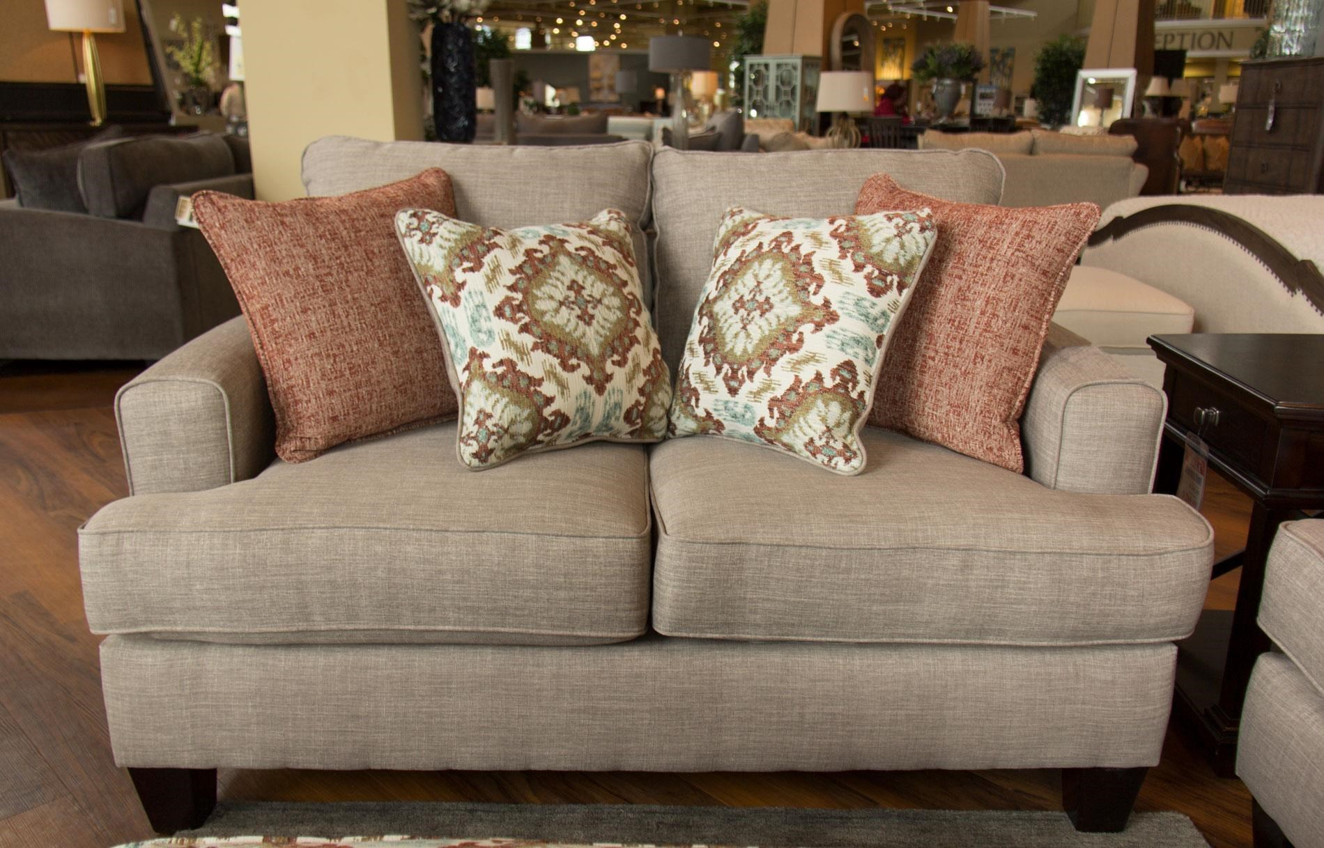 Charmant Fusion Furniture Quinn TwilightLoveseat