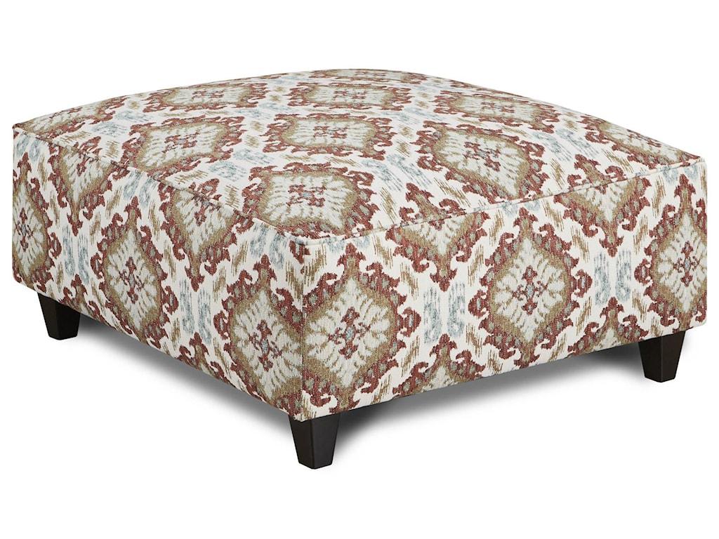 Fusion Furniture Quinn TwilightAccent Chair and Ottoman