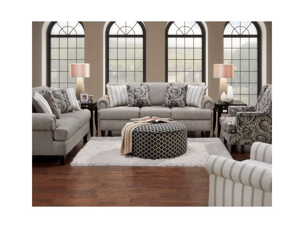 Fusion Furniture 2790Stationary Living Room Group