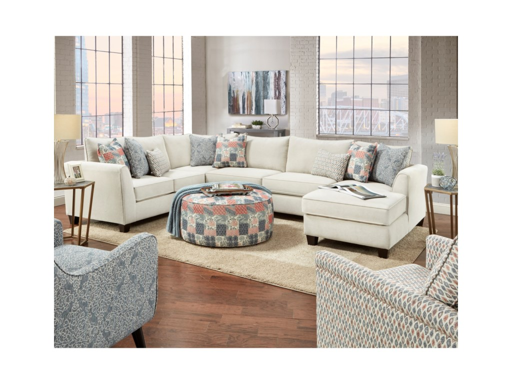 Haley Jordan 283-Piece Sectional with Chaise