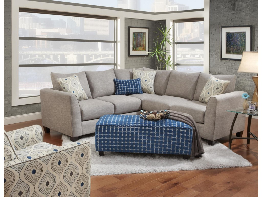 Fusion Furniture 2800Stationary Living Room Group