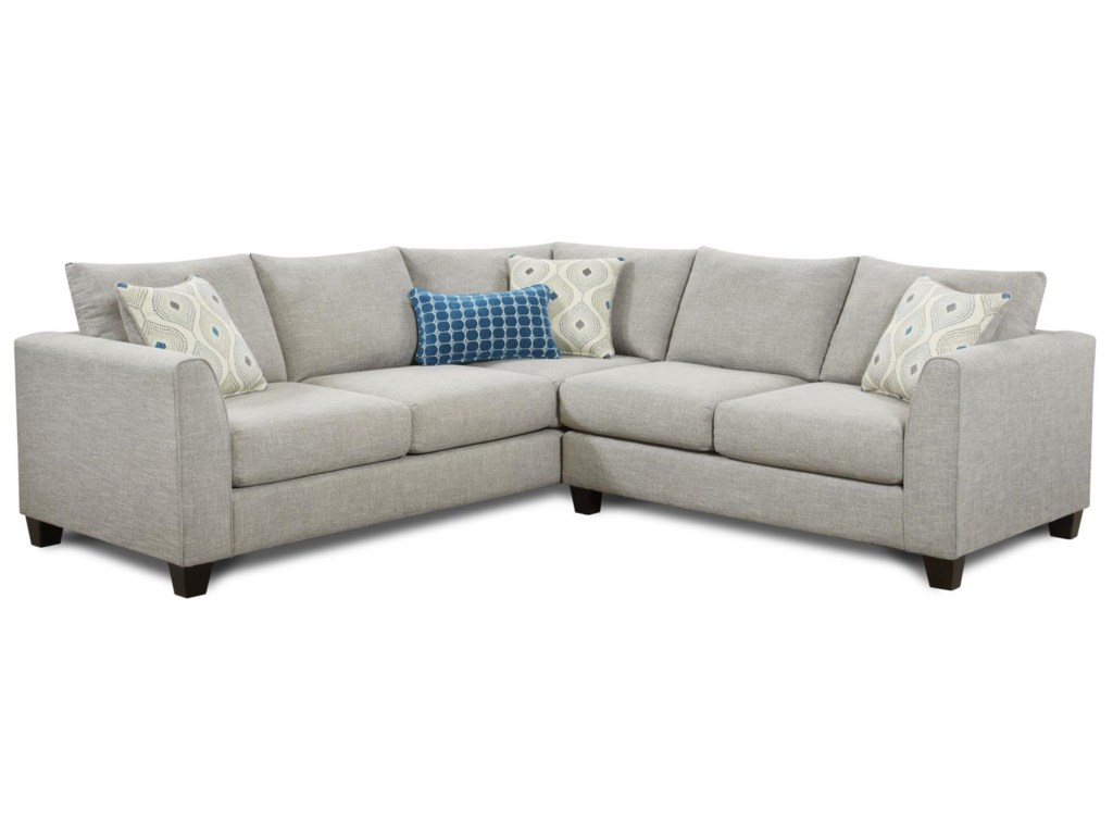 Paradigm 2-Piece Corner Sectional by Fusion Furniture at Ruby Gordon Home