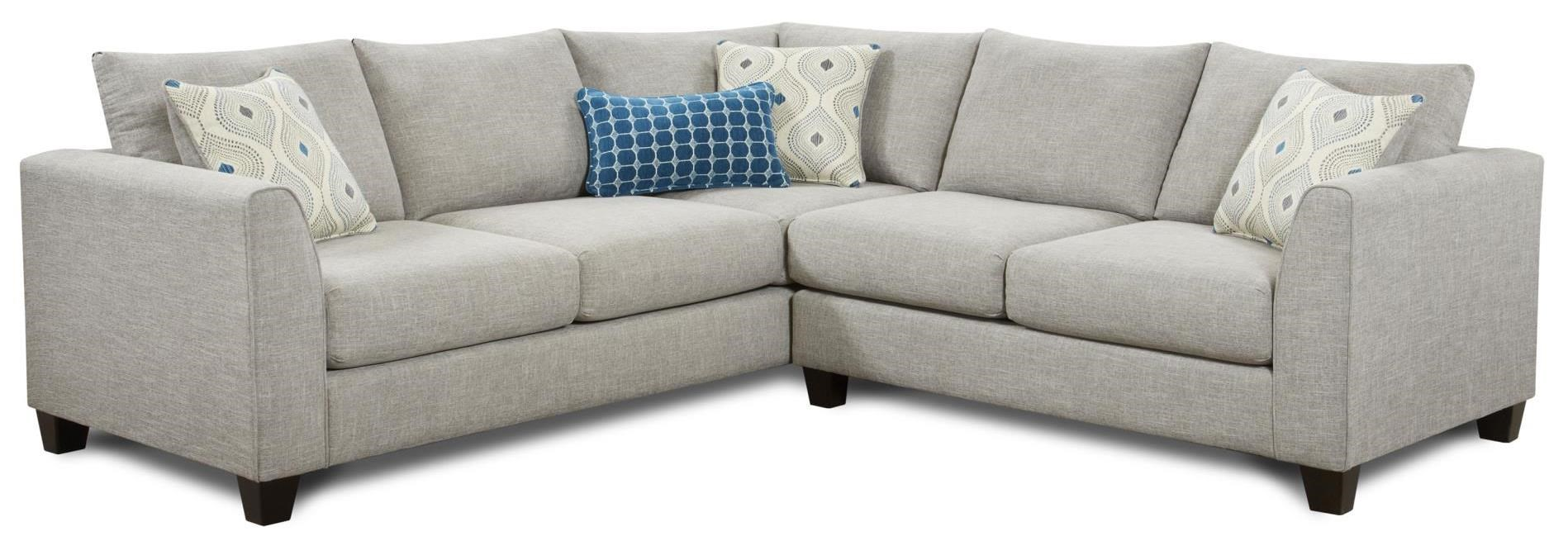 Fusion Furniture 2800 2 Piece Corner Sectional