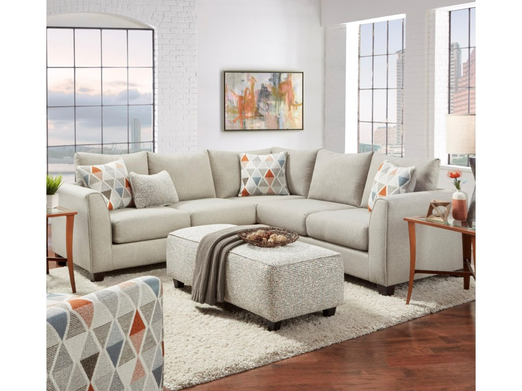Haley Jordan 28002-Piece Sectional