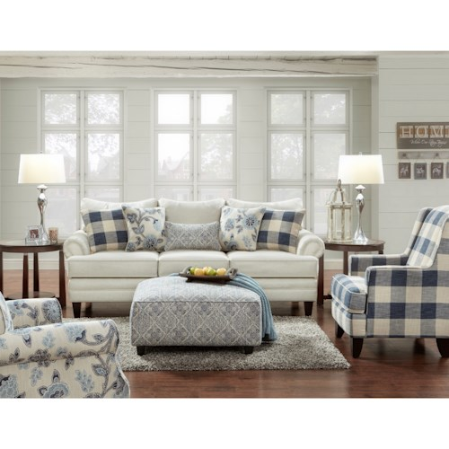 Fusion Furniture 2810 Stationary Living Room Group