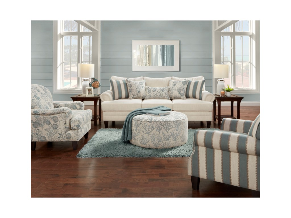 Fusion Furniture 2810Stationary Living Room Group