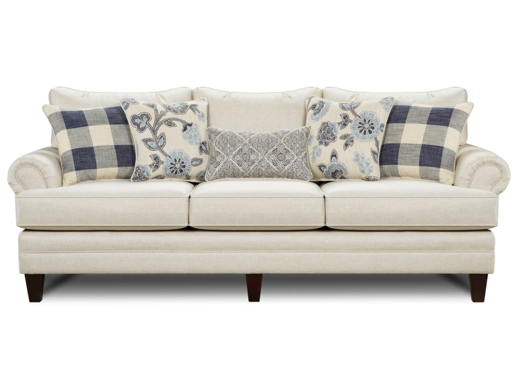 Fusion Furniture Catalina LinenLinen Sofa