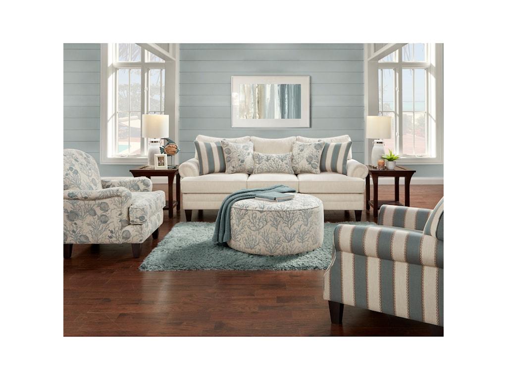 Fusion Furniture 2810Sofa