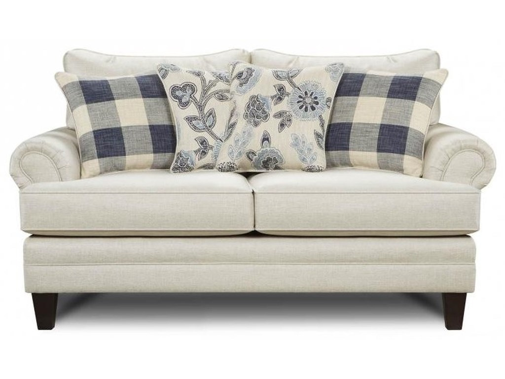 Fusion Furniture Catalina Linenlinen Loveseat