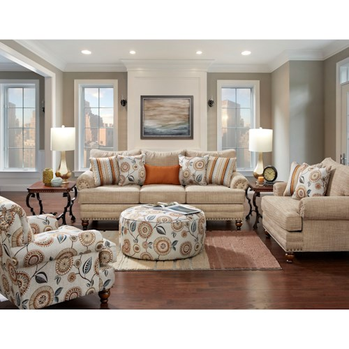 Fusion Furniture 2820 Stationary Living Room Group
