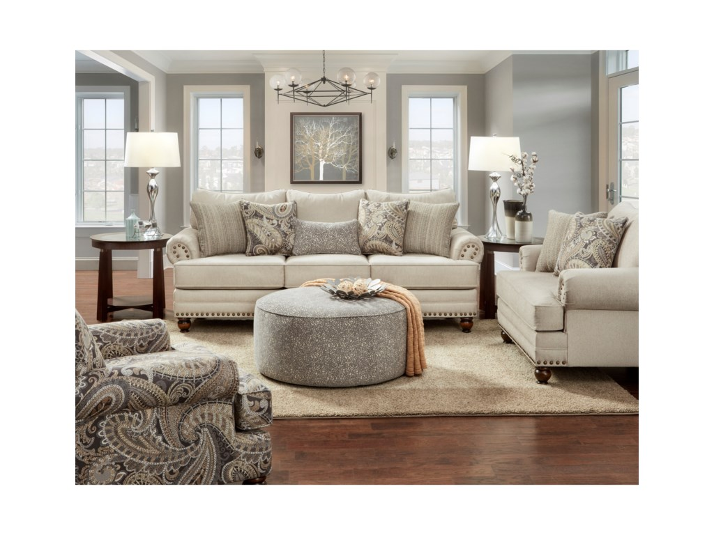 Hickory Lane 2820Stationary Living Room Group
