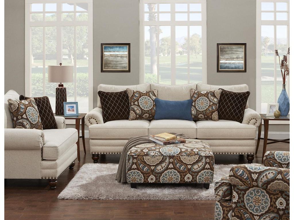 Fusion Furniture 2820Sofa