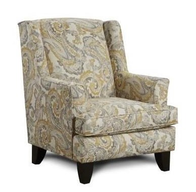 Fusion Furniture 2830McClandis Buttercup Accent Chair