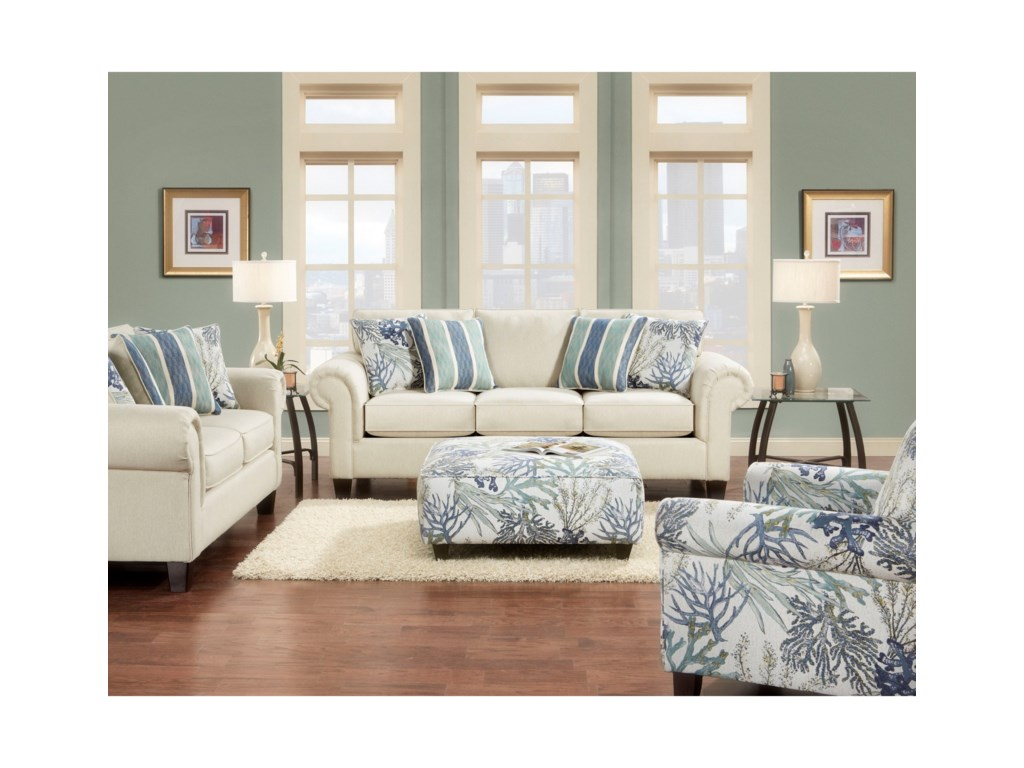 Fusion Furniture 3100Stationary Living Room Group