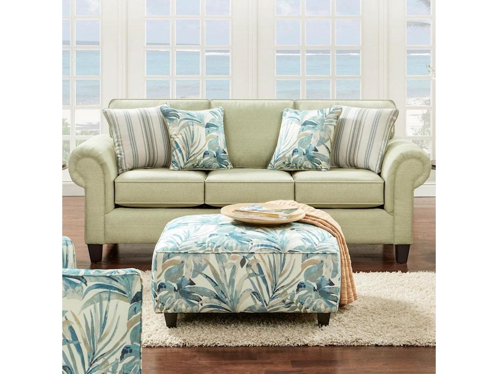 Fusion Furniture 3100Sofa