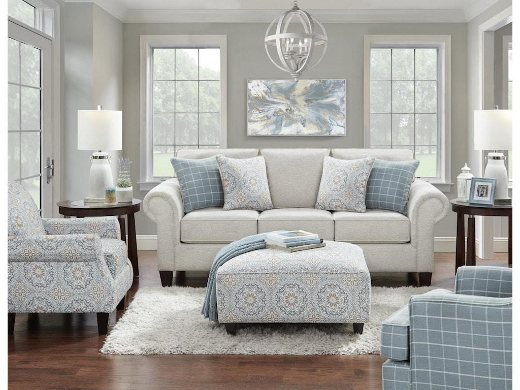 Fusion Furniture 3100Loveseat