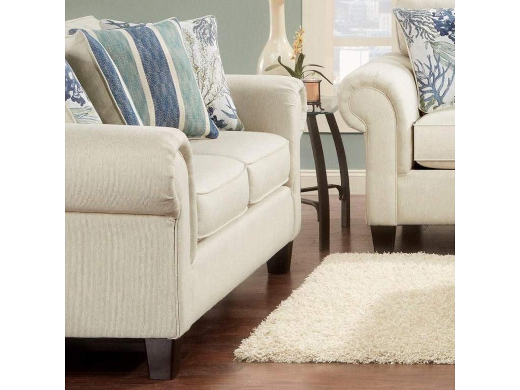 Fusion Furniture 3100Loveseat