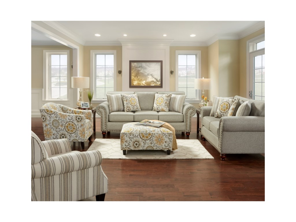 VFM Signature 3110Stationary Living Room Group