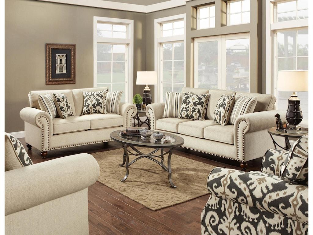 Fusion Furniture FairleighSofa
