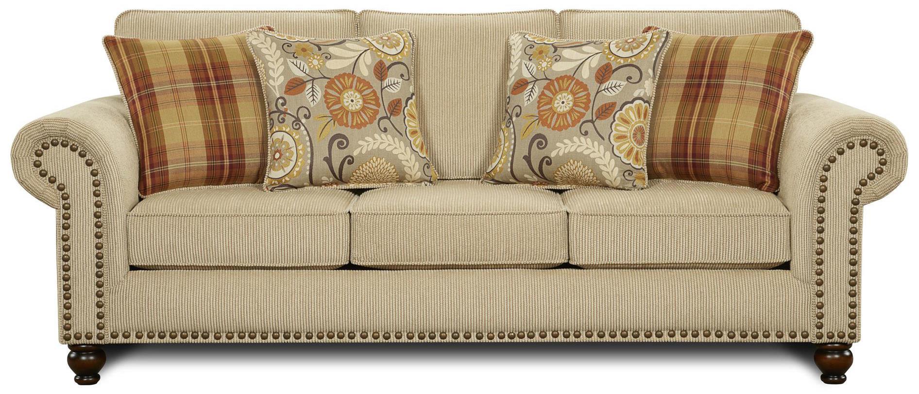 Lovely Fusion Furniture 3110Sofa ...